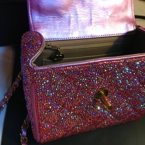 b98df6c5372b4a CHANEL Bags | Authentic Iridescent Pink Swarovski Mini | Poshmark